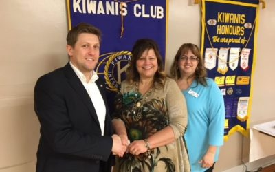 Kiwanis Club of Trenton Golfs for Students