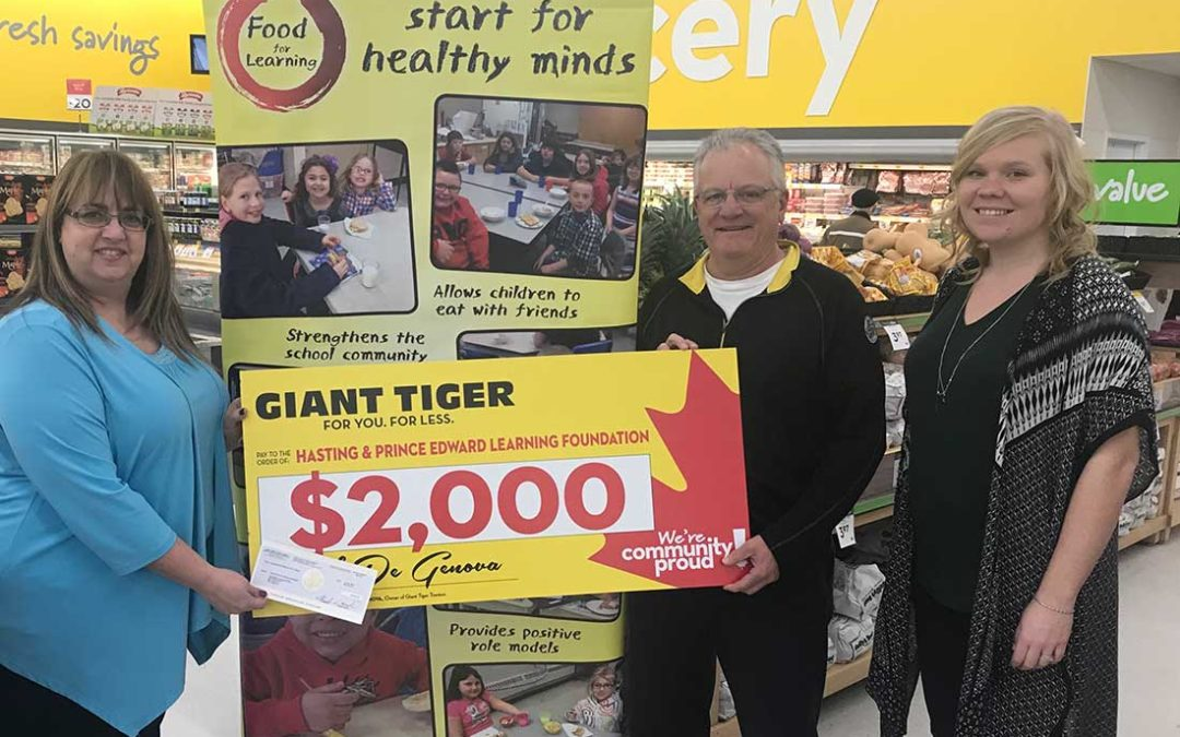 Giant Tiger Holiday Giving