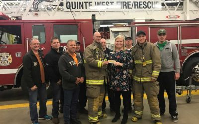 Volunteer Firefighters Support Food for Learning